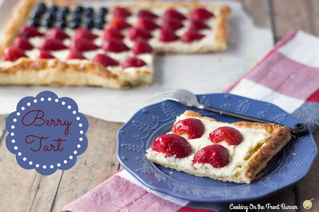 Patriotic Berry Tart | Cooking on the Front Burner