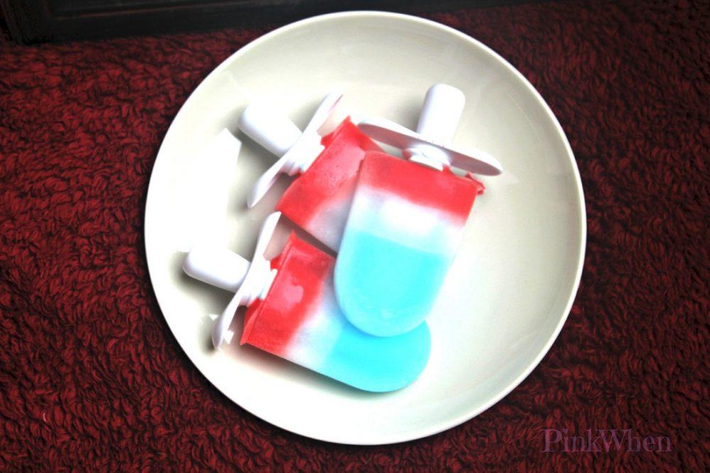 Patriotic Popsicles | PinkWhen