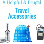 Frugal travel accessories