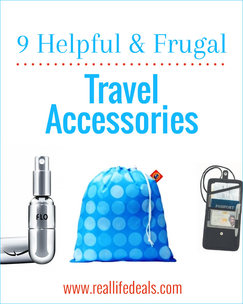 These travel accessories will save you some headaches while on vacation and won't break the bank!