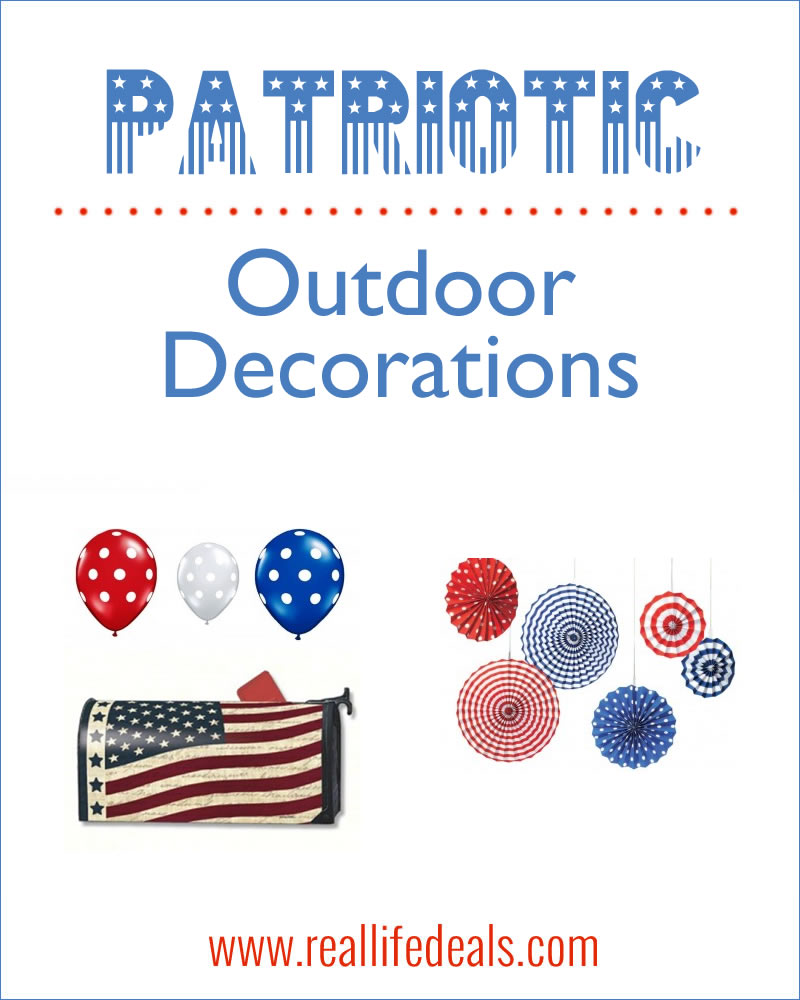 Patriotic Outdoor Decorations For All Budgets Newlywed