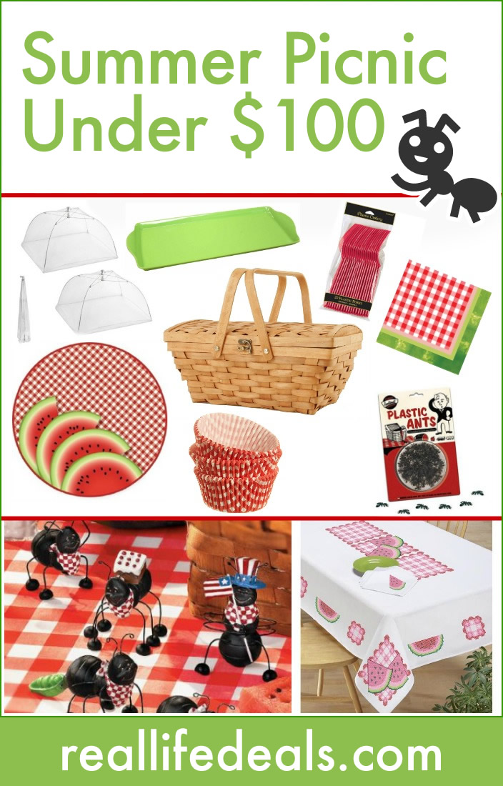 Have a summer picnic for less than $100!