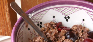 Chocolate Covered Cherry Oatmeal Recipe
