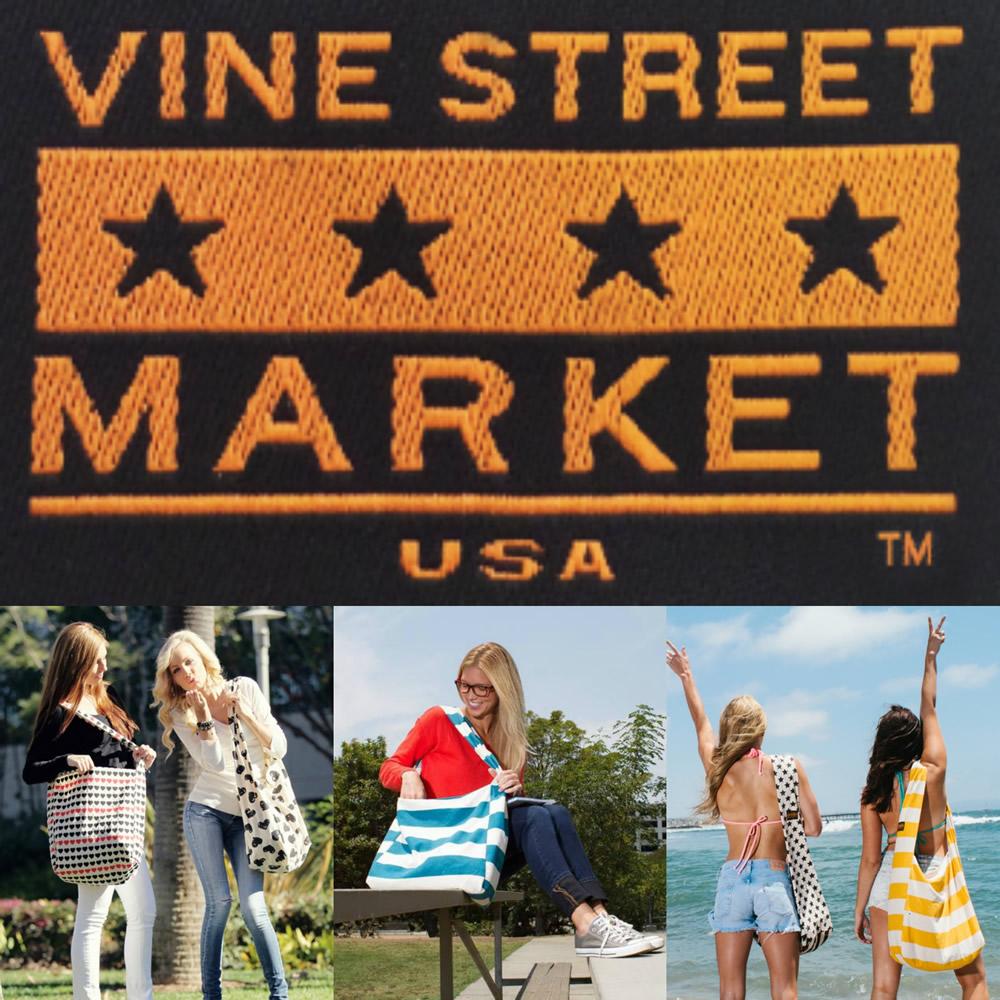 Vine Street Market USA carryall totes #LoveVSM #ad @vinestreetbags
