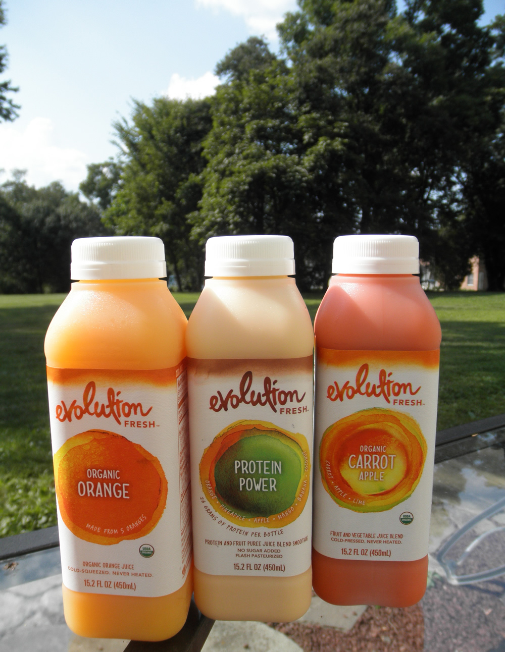 Evolution Fresh drinks #mc sponsored