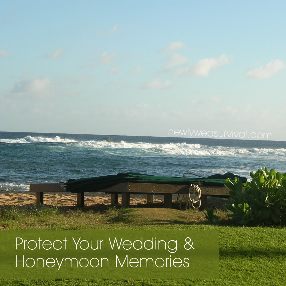 Manage and protect your wedding & honeymoon photos #lyvehome sponsored