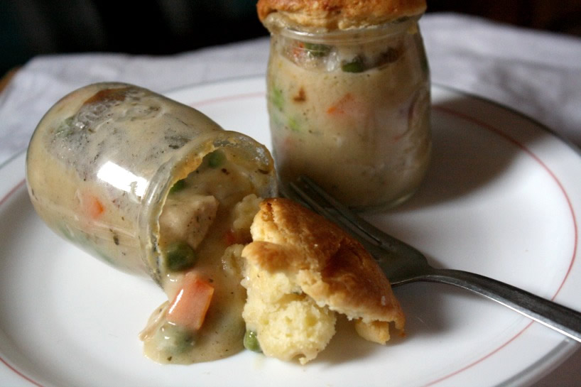 Individual Chicken Pot Pies - perfect for fall and winter