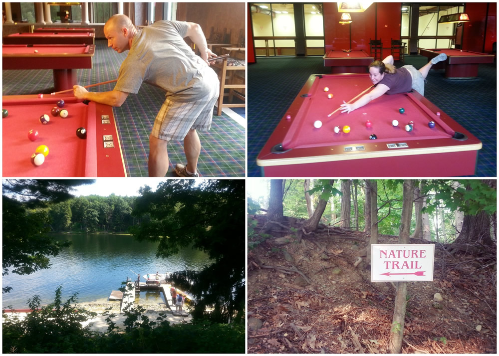 Fun activities at #poconopalace couples resort #ad