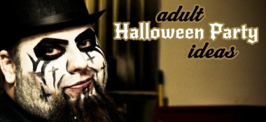 Adult halloween party ideas