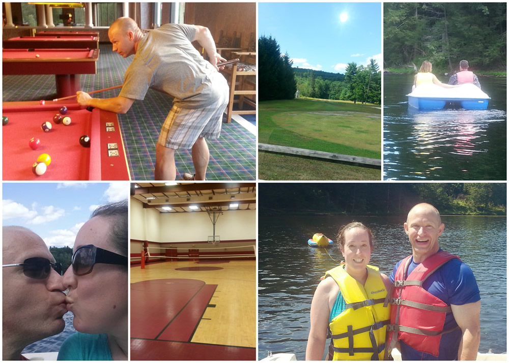 Fun couples activities at the #landoflove #poconopalace #ad