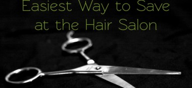 How I Save Money at Hair Salons