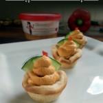 Skinnygirl hummus cupcake appetizer #NowThisIsSkinnyDipping #sponsored