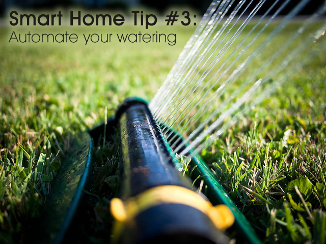 Top 5 tips for a smart home. Tip #3: automate your watering #DESmartHome sponsored @directenergy