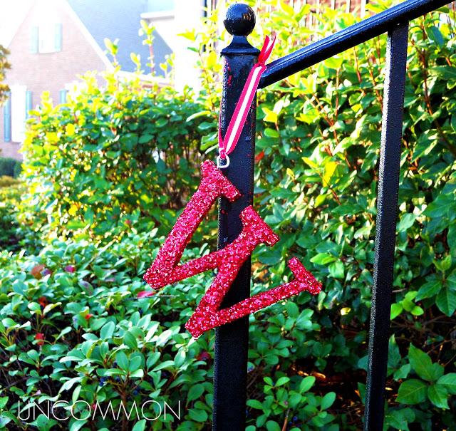 z-Monogrammed Ornament