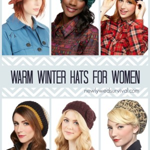 warm winter hats for women