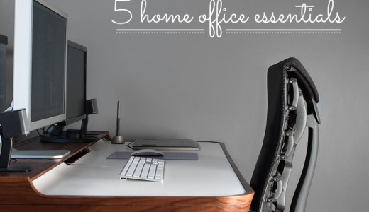 5 Work from Home Office Essentials