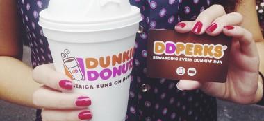 Dunkin' Donuts DD Perks Rewards Program – Yum!