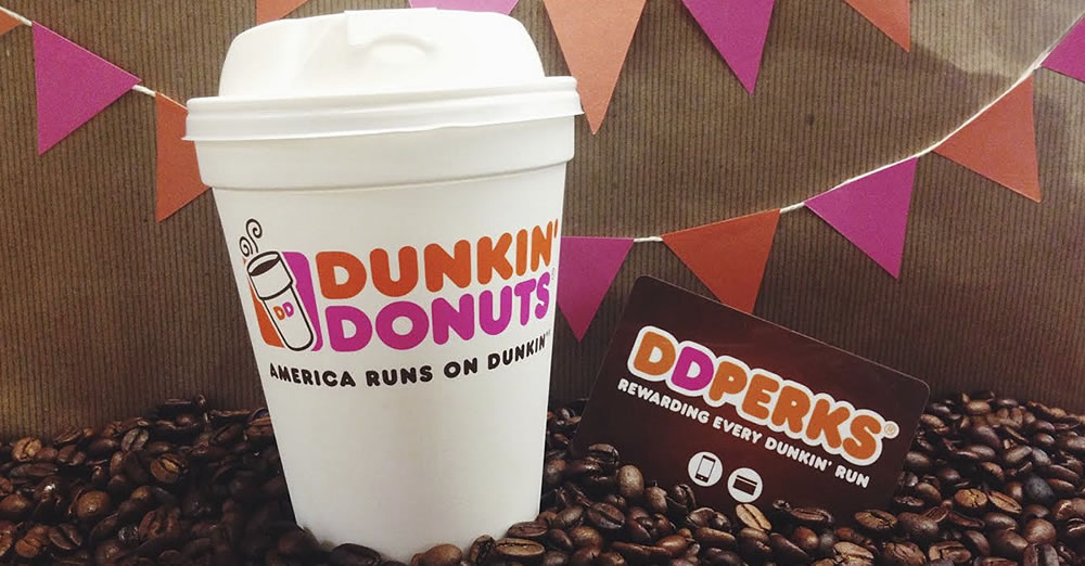 #DDPerks rewards program from Dunkin' Donuts #sponsored #MC