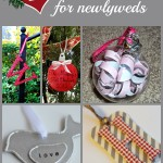 diy ornaments for newlyweds