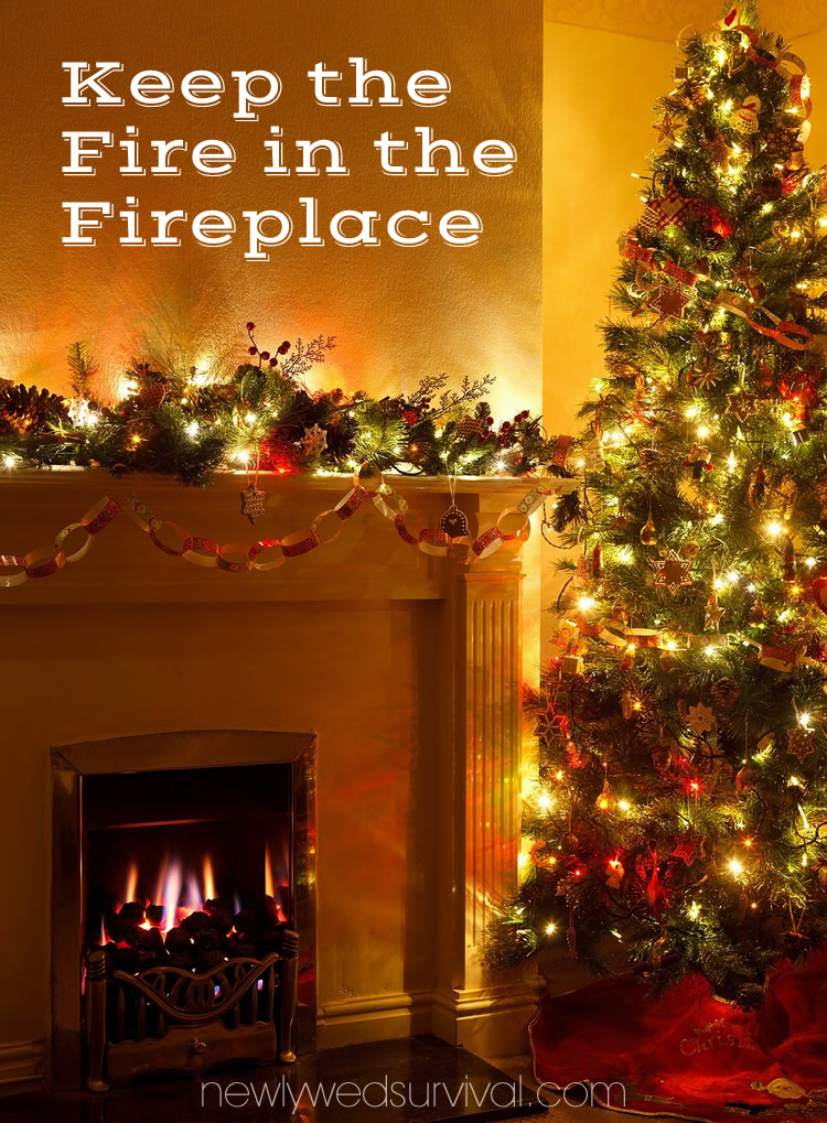 keep the fire in the fireplace this holiday season with Safer Socket