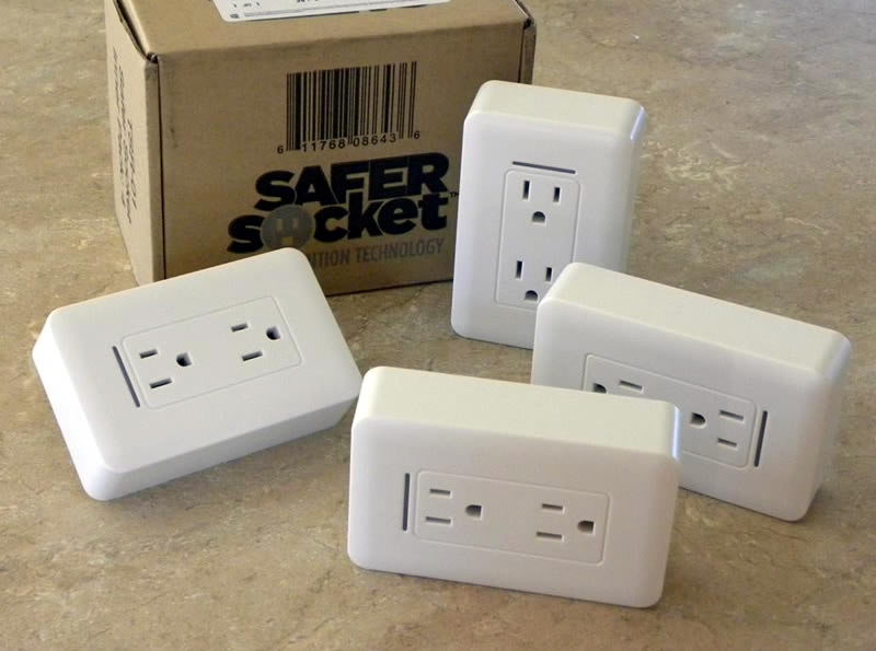 Prevent holiday fires with Safer Sockets