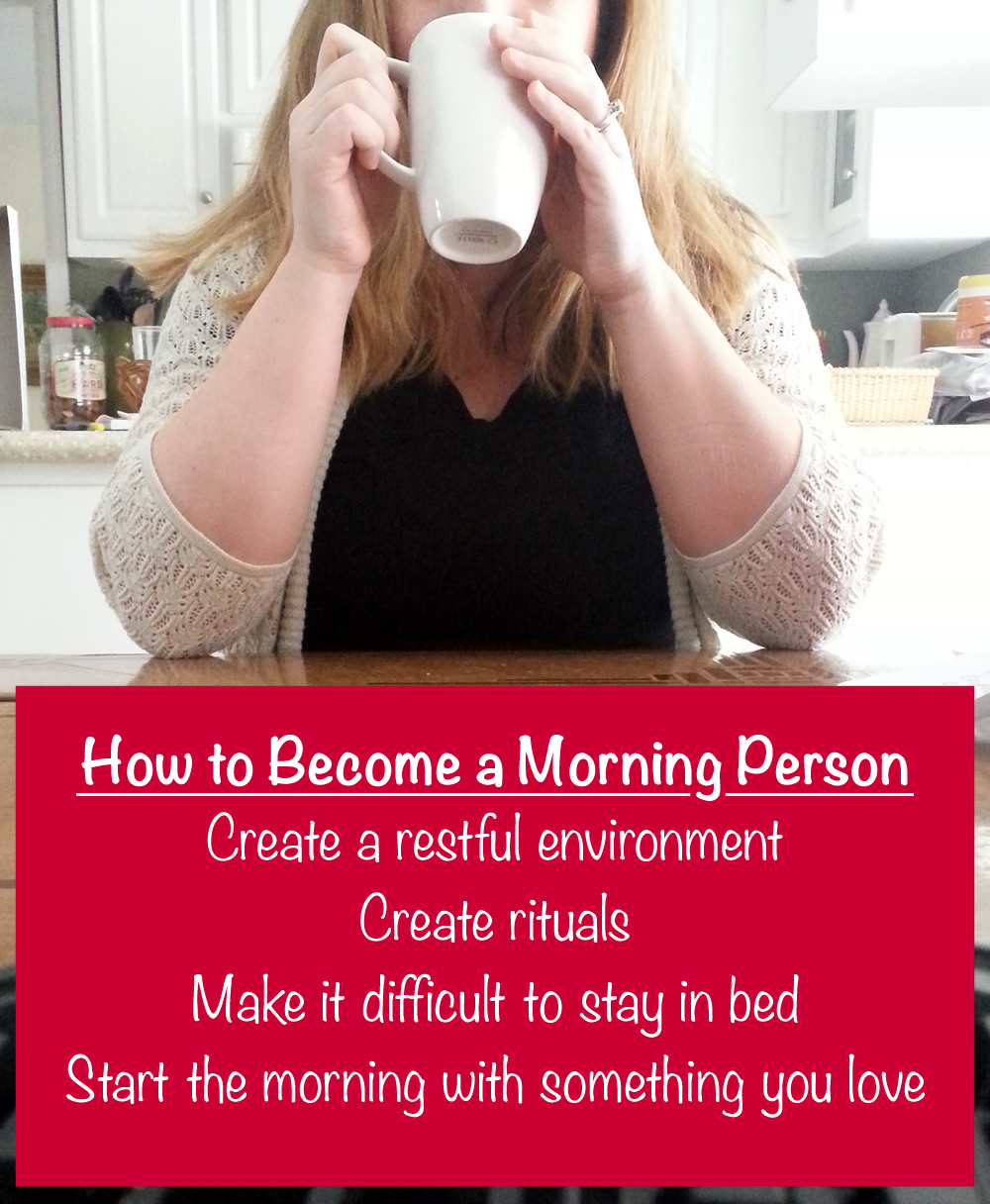4 {somewhat} easy ways to become a morning person #McCafeMyWay #Ad