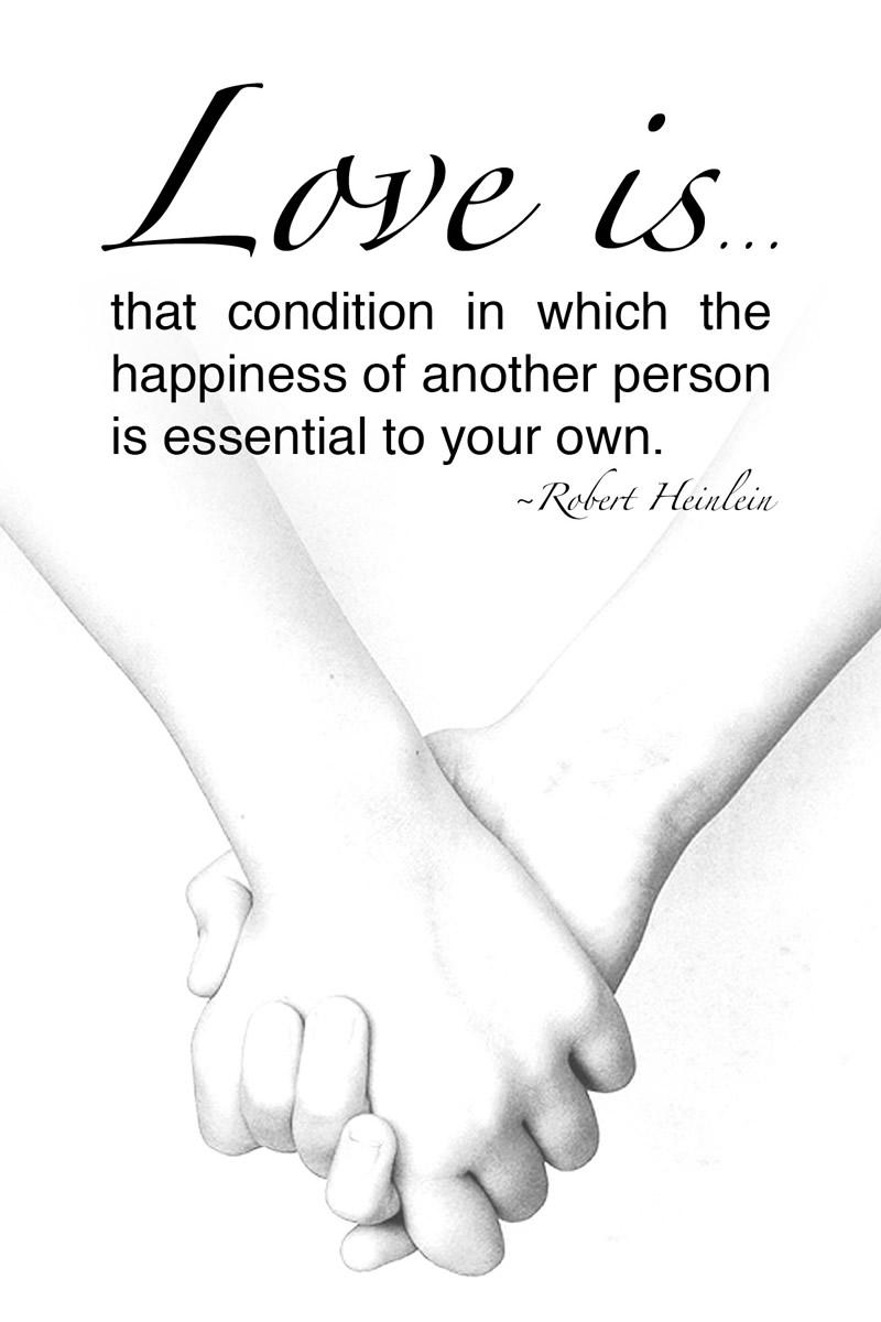 Free Printable Love Quote - Robert Heinlein #lovequote