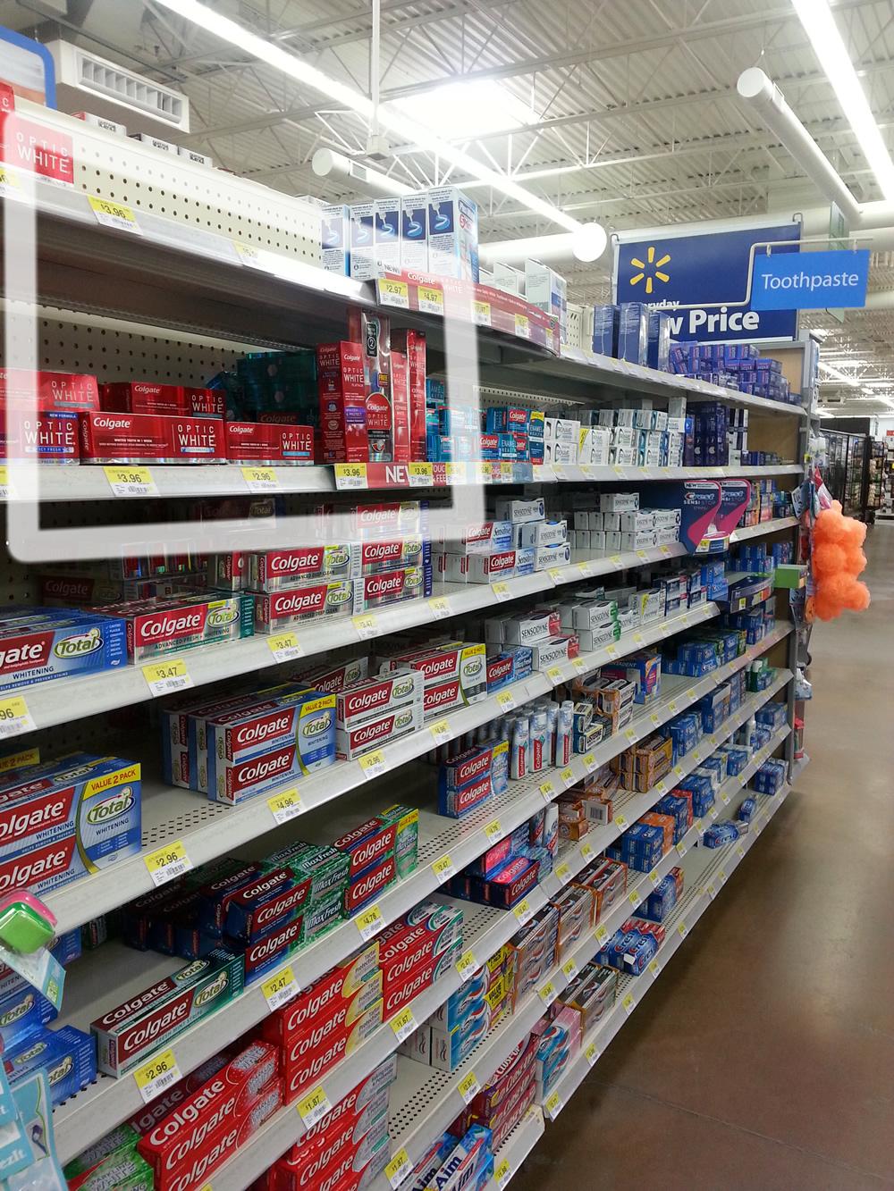 Colgate Optic White Express White at Walmart #OpticSmiles #CollectiveBias #ad