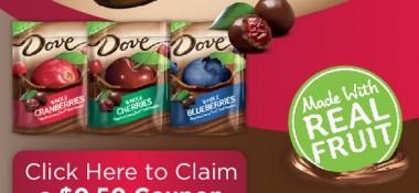 DOVE® Whole Fruit snacks