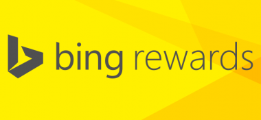 Earn rewards by searching online with the Bing Rewards program.