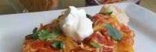 Easy Shrimp Enchiladas