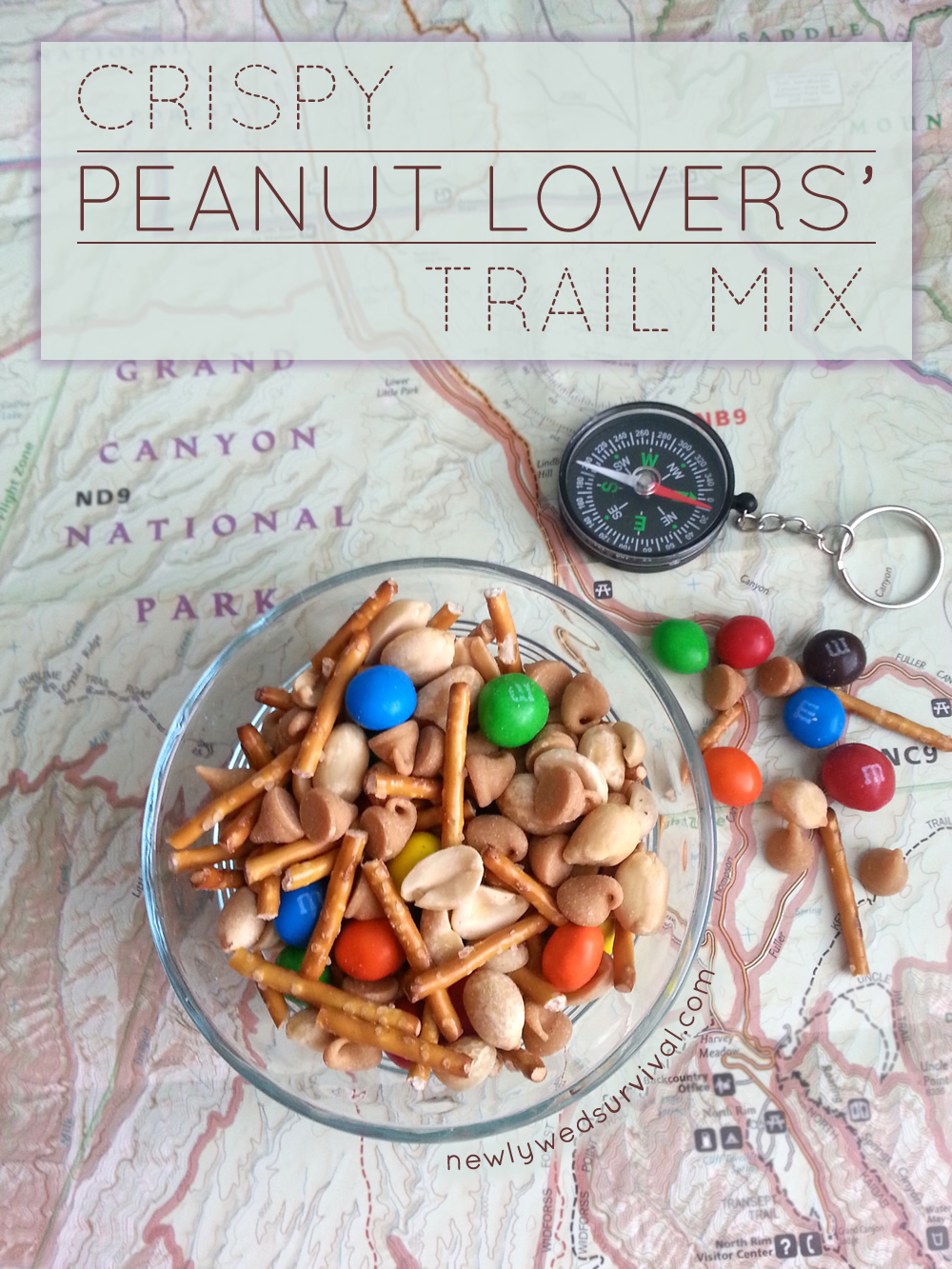 A delicious trail mix recipe for any peanut lover! #CrispyIsBack #ad