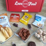 The #LoveWithFood subscription box. Snacks with a purpose! #ad