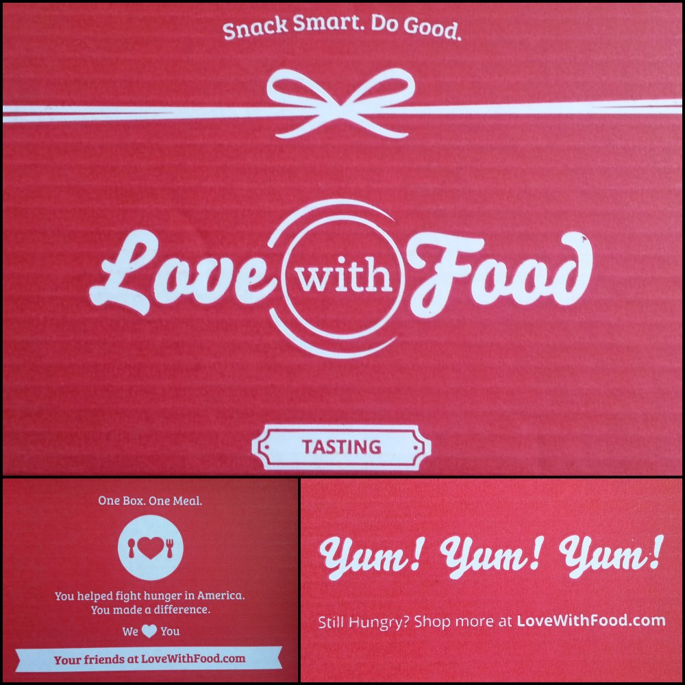 The Love with Food tasting box #lovewithfood #ad @lovewithfood