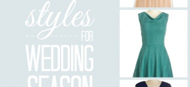Beautiful Styles for Wedding Season