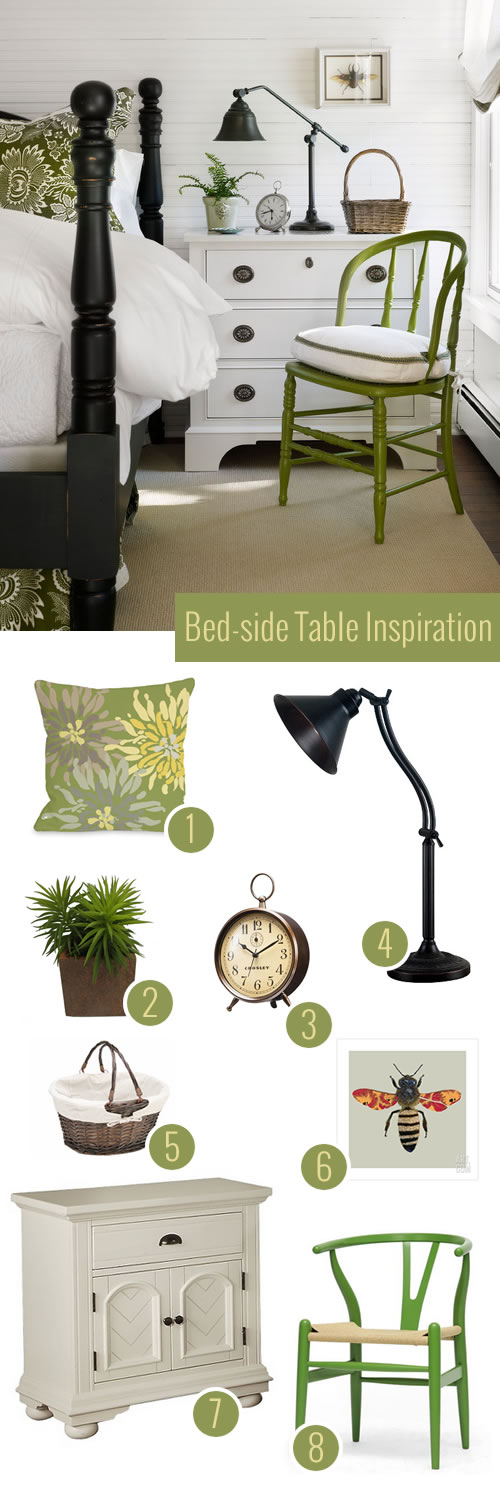 Get the Look: Beach Style Bed-Side Table on a Budget (under $600)