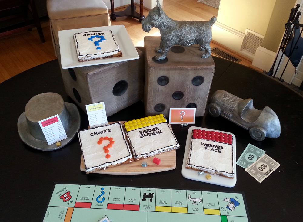 Monopoly #GameNightIn with cookies! #ad #cbias