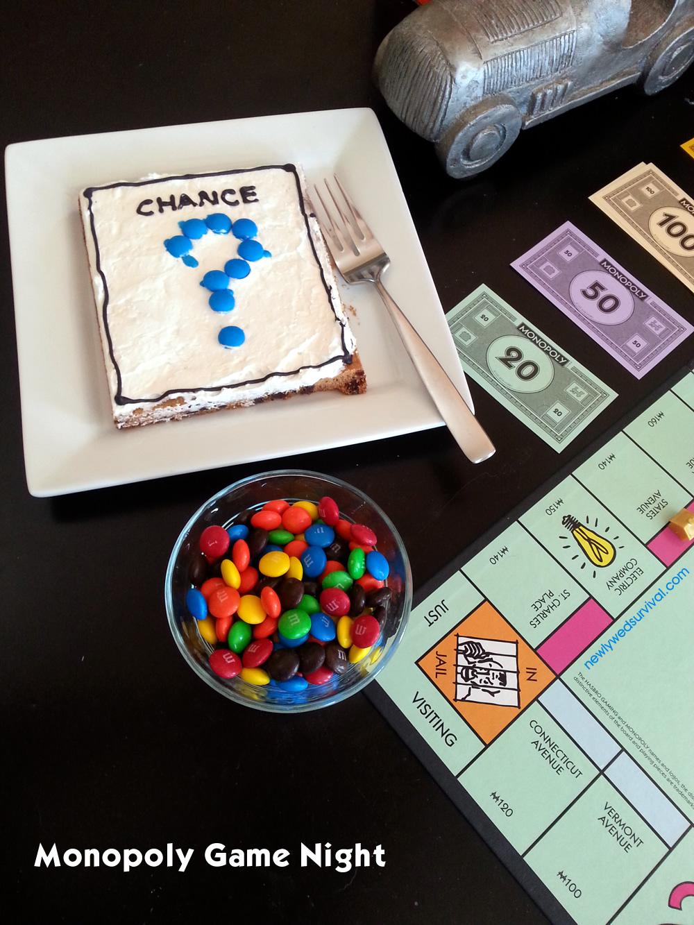 Monopoly game night cookies #GameNightIn #ad #cbias
