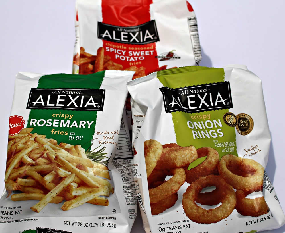 #SpringIntoFlavor with Alexia fries and onion rings! #ad #cbias