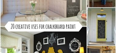 20 Creative Ways to Use Chalkboard Paint in Your Home
