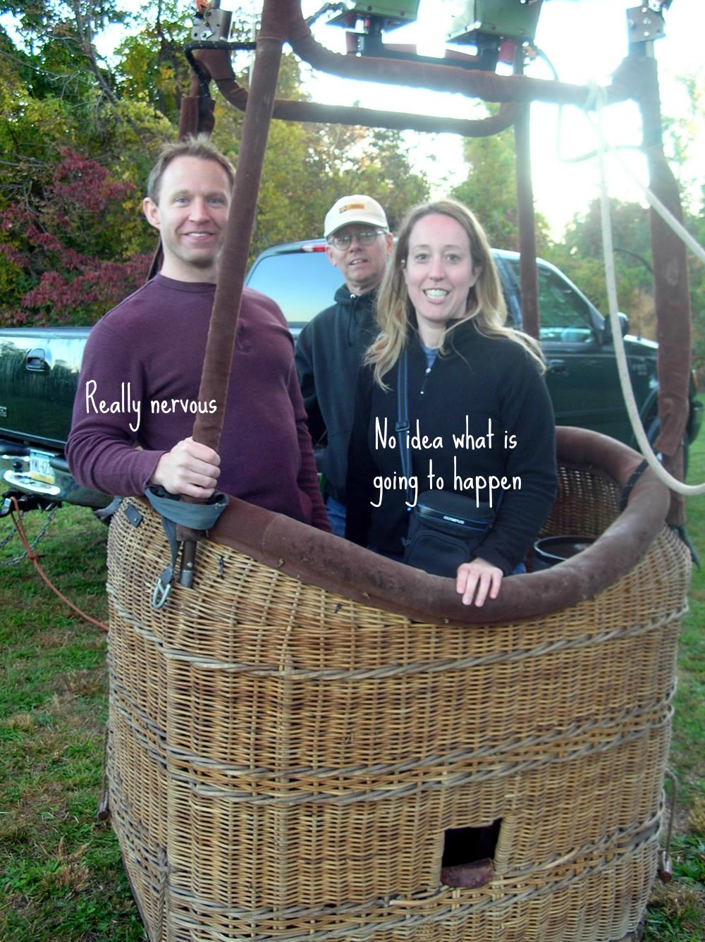 Our engagement story - hot air balloon proposal #MemoryLane #ad