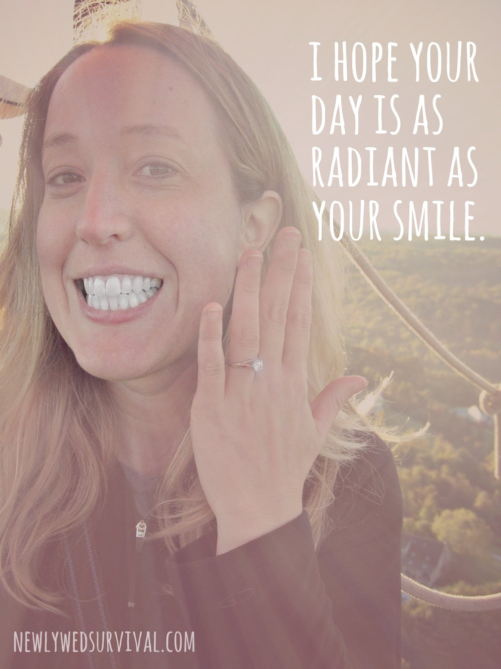 I hope your day is as radiant as your smile. #TrulyRadiantFinish