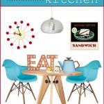 Get the Look: Retro Modern Kitchen