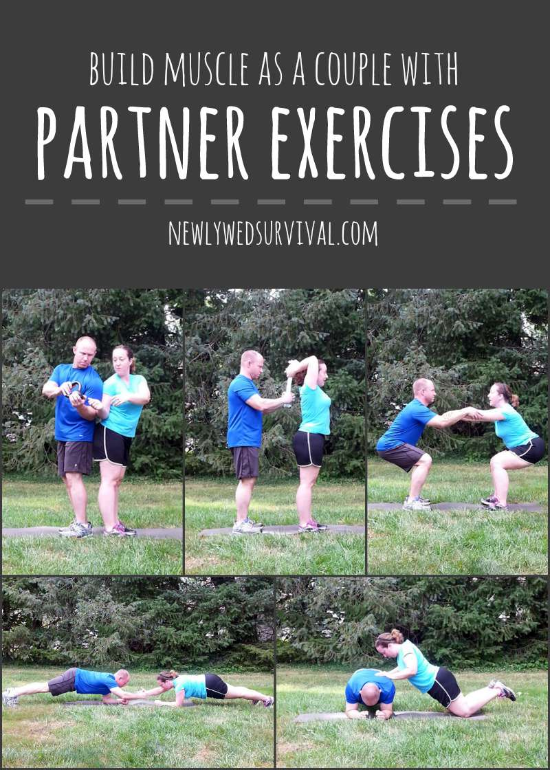 Build muscle as a couple with partner exercises #PowerInProtein #CollectiveBias @Walmart