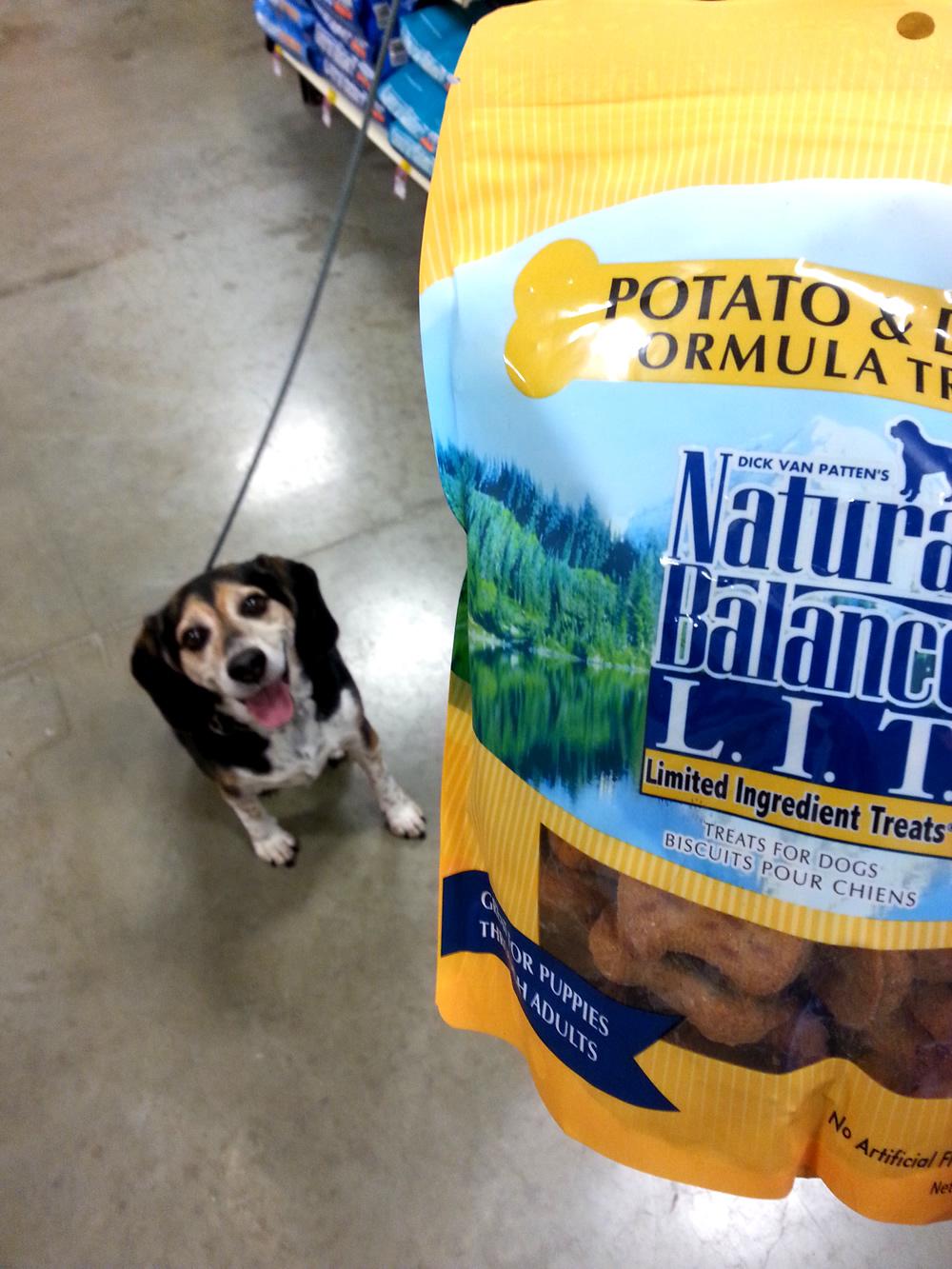 Natural Balance Potato & Duck Formula Treats #PetSmartStory