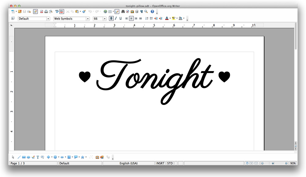 Create the words on your computer and print them out #KYTrySomethingNew #cbias