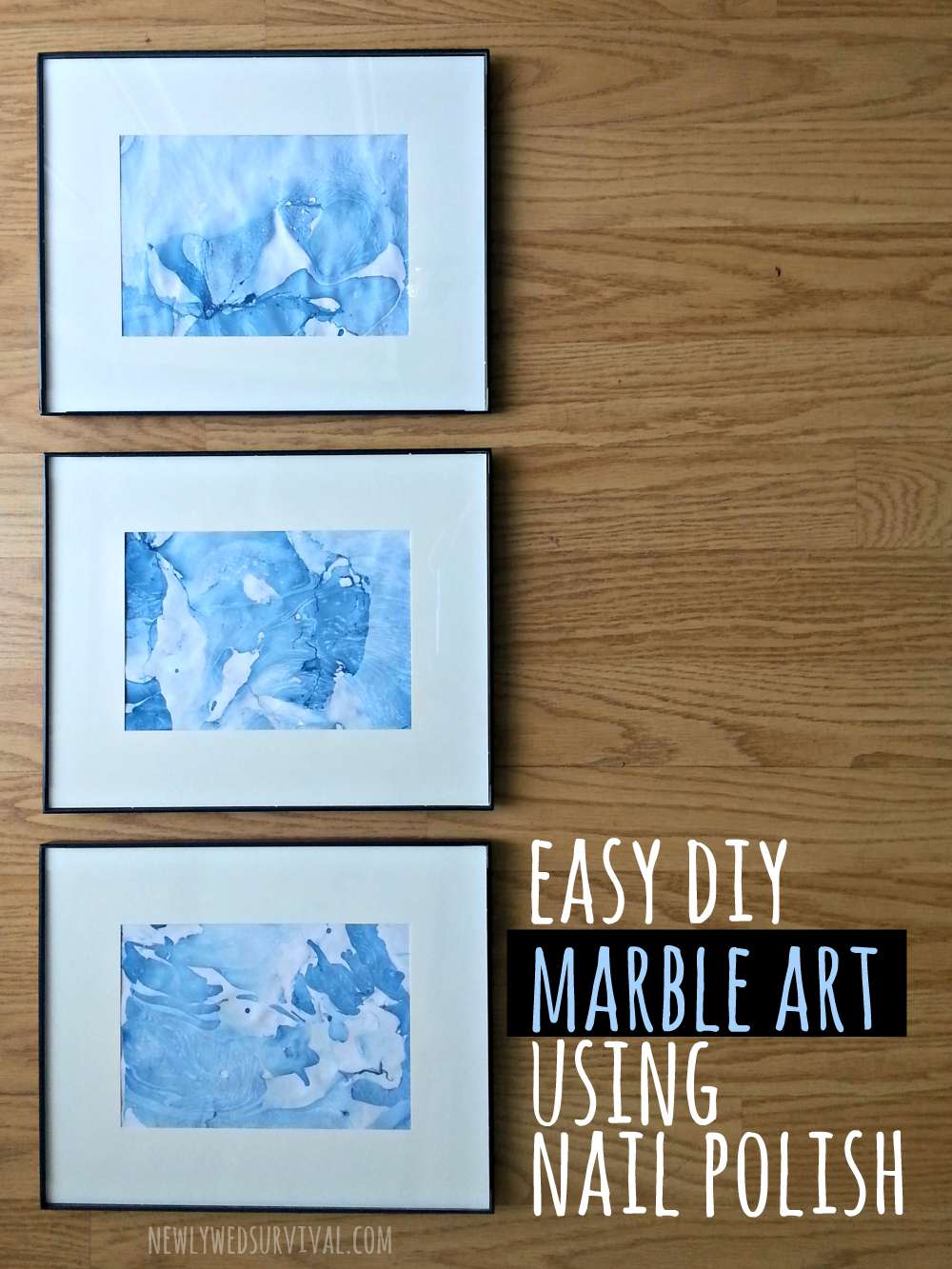 Easy DIY Marble Art Using Nail Polish #CraftedExperience #CollectiveBias