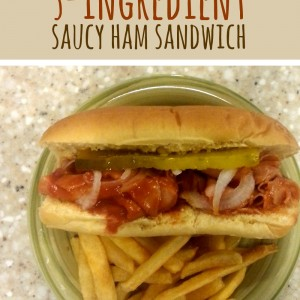 Saucy Ham Sandwich Recipe – Easy Monday Dinner