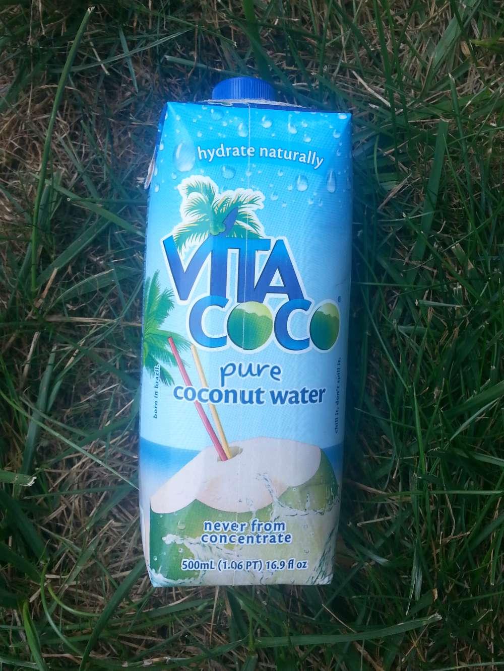 Vita Coco pure coconut water #SipandBeFit