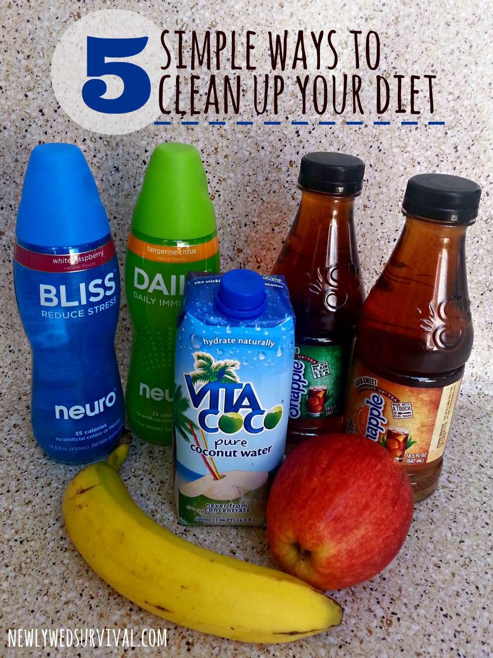 Simple ways to clean up your diet #SipandBeFit